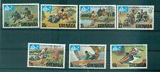 SCOUTISME - SCOUTING GRENADA 1975 14th World Jamboree set