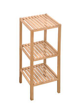 Rivoli - Scaffale in legno di noce naturale, disponibile in 3 misure diverse