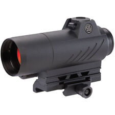 Sig Sauer SOR71001 Romeo7 1x 30mm 2 MOA Red Dot Illuminated Reticle Sight, Black