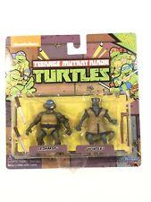 "Nickelodeon TMNT Classic Collection: LEONARDO & SPLINTER 2"" Figures!"