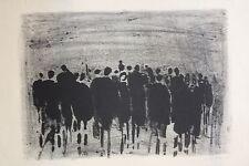 Koller, Oskar (1925-2004) - Lithografie Menschenmasse 1964