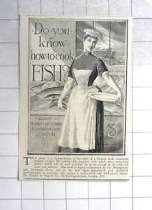 1890 Charles A Vogeler Company, Asks, Do You Know How To Cook Fish?