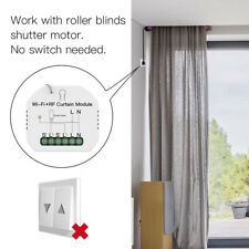Smart WiFi Curtain Blind Switch Module Voice Control for Electric Roller Shutter