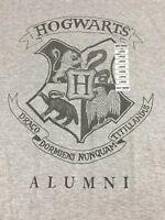 NWT Hogwarts Alumni Gray Harry Potter T-Shirt DRACO DORMIENS Sz Large L NEW