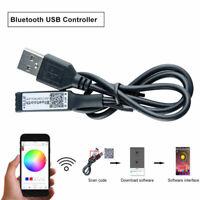 USB Mini Bluetooth Controller For RGB/RGBW SMD 5050 3528 LED Strip Lights 5V-24V