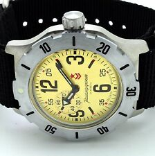 RUSSIAN VOSTOK KOMANDIRSKIE  350749  MILITARY AUTO WRIST WATCH NEW