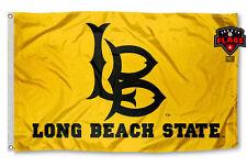 CSULB Flag Banner 3x5 ft California State University Long Beach 49ers Yellow