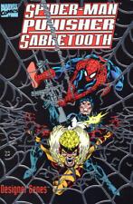 Spider-Man Punisher Sabretooth Designer Genes GN TPB Scott McDaniel X-Men OOP NM