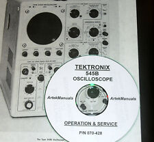 TEKTRONIX INSTRUCTION (OPERATING & SERVICE) MANUAL for the 545B OSCILLOSCOPE