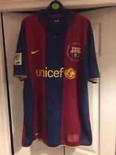 Men's Nike Barcelona Home Shirt 50 Year Anniversary 1957 - 2007 Size XL FCB No 2