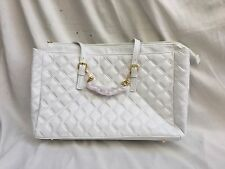 """JOY & IMAN Iconic Quilted """"Fashionably Functional"""" Bag w/Removable Bracelet-Gift"""