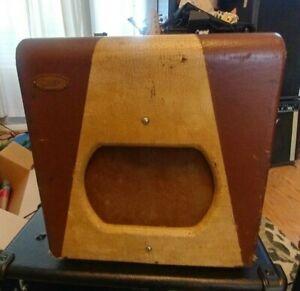 Vintage 1955 Supro Spectator guitar, harp amp, Valco,1x8,all orig, Sounds GREAT!