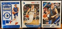 2019-20 DONRUSS, HOOPS, CONTENDERS LUKA DONCIC CARD 3 CARD LOT Dallas Mavericks