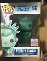 Funko pop freddy new york estatua de la libertad falla convention figure toy