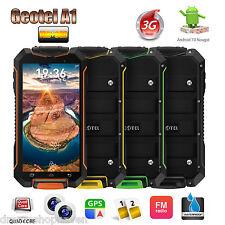 Wasserdicht GEOTEL Android7.0 3G Smartphone 2-SIM Stoßfest 3400mAh Outdoor Handy