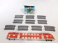 BZ980-0,5# 10x Märklin H0/AC 2134 Gleisstück (K-Gleis) gebogen, NEUW+OVP