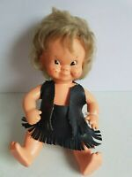 Regal Canada Kimmie Doll in Leather Outfit 10 Inch Vintage