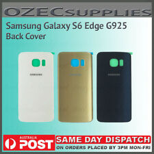 Samsung Galaxy S6 Edge G925 Original OEM Battery Back Glass Cover Replacement