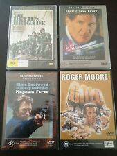 """4 NEW Movies """"The Devil's Brigade"""", """"Air Force One"""", """"Magnum Force"""" & """"Gold"""""""