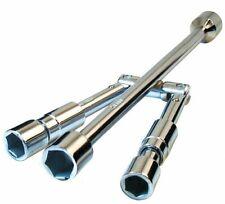E-Tech Folding Durable Wheel Bolt & Nut Wrench Car Van 17mm 19mm 21mm 23mm Brace