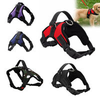 Soft Padded Pet Puppy Non Pull Vest Harness with Heavy Duty Handle Training Vest