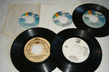 Lot of 5 BOBBY WOMACK 45s Make Love To You, Someday We'll AQll Be Free, Love War