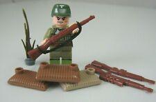Capitano tedesco con 10 soldati statuine GIOCATTOLI COBI//LEGO ideare.