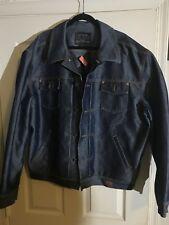 Guess Denim Jacket Mens Xxxl Retro Vintage