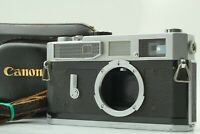 {EXC+5 w/Case} CANON Model 7 SLR 35mm Rangefinder Film Camera Body from JAPAN 39