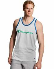 Champion Men's Classic Jersey Tank T-Shirt Sleeveless Script Logo Athletics