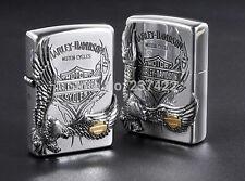 ZIPPO / HARLEY-DAVIDSON Cigarette Oil Lighter....... LIMITED EDITION HDP-16
