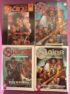 4x Slaine / Herr des Sonnenreiches Band 1 2 3 (Deutsch) + The Collected (ENG)