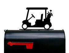 Golf Cart Mailbox Topper / Sign - Made in USA