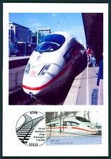 BRD MK EISENBAHN ICE TRAIN PRIVATE !! MAXIMUMKARTE CARTE MAXIMUM CARD MC CM bu98