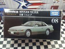 TOMICA PREMIUM #08 NISSAN SILVIA 1/62 SCALE NEW IN BOX