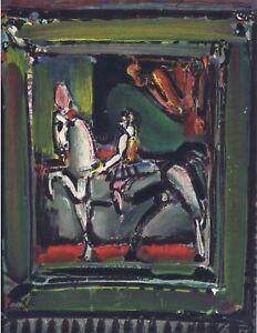 """Georges Rouault  """"Equestrienne """" Original Lithograph Mourlot 1st Ed 1971"""