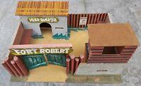 Gioco Vintage fortino WEST  - FORT ROBERT   anni '70 originale con imballo orig.