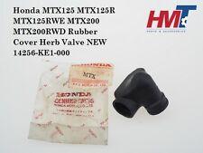 Honda MTX200 MTX125R MTX125RW Rubber A-TAC Cover Herp Valve 14256-KE1-000 NEW