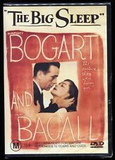 The Big Sleep - R4 (Dvd) Classic Bogart Bacall Film Noir