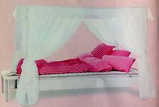Flexa Beautiful White Canopy-For Twin Size Inspiration Bed-Nib! Flexa #79410