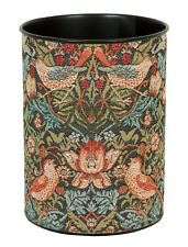 William Morris Strawberry Thief Charcoal Tapestry Waste Paper Bin