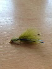 Blue Flash Damsels Trout Flies Lure/ Buzzers