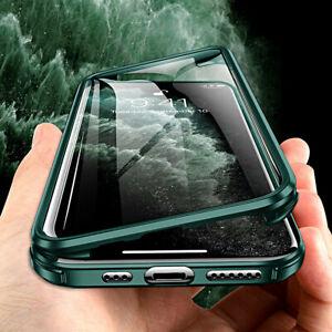 COVER per Iphone 11 / Pro Max BUMPER SILICONE TPU 360° DOPPIO VETRO FRONTE RETRO