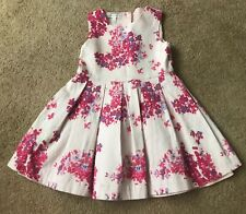 RHR John Rocha Floral Dress Party Pretty Occassion Pink 18-24 Months