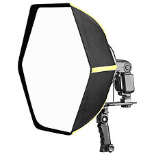 "Neewer 24"" Professional Hexagonal Softbox Collapsible Diffuser with Handle Grip"