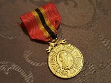 M34 Médaille décoration honneur militariat REGNE LEOPOLD II Belgique Medal