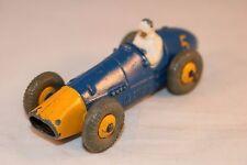 Dinky Toys 234 Ferrari racing car with yellow metal hubs very nice model     *9*