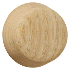 DIMMER KNOB UNFINISHED ASH WOOD OAK 947UN :: WITH 3 ADAPTERS TO FIT ALL SHAFTS