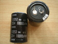 10000UF 35V   Snap in capacitor   Nippon Chemicon   x 2 pieces      Z1046