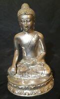 Siddharta Gautama BUDDHAFIGUR Bronze 24cm CHINA ASIEN Meditation Feng Shui Yoga